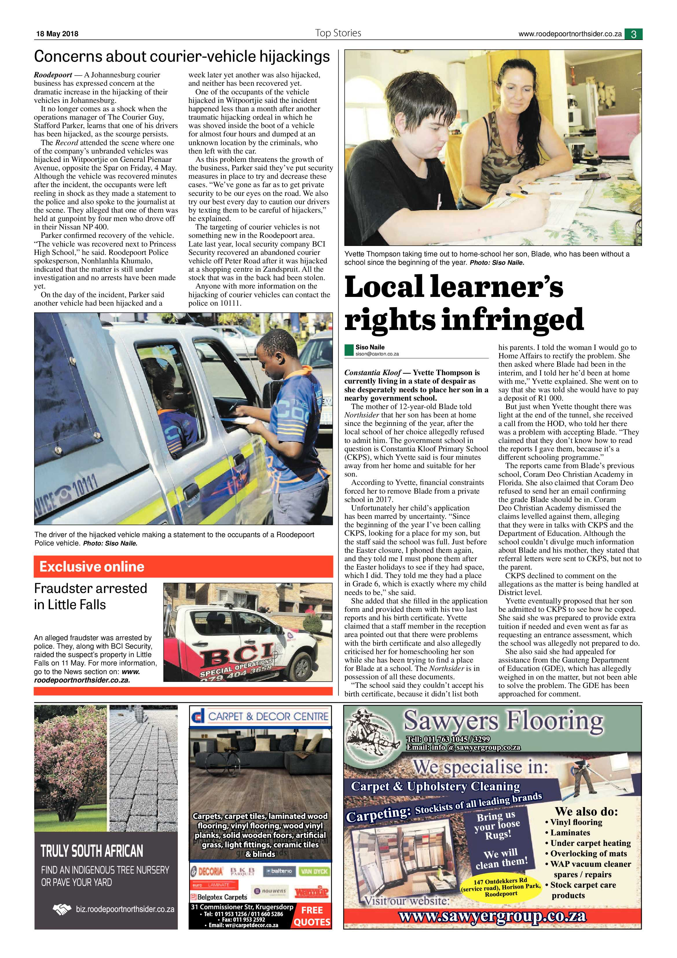 Roodepoort northsider 18 may 2018 roodepoort northsider roodepoort northsider 18 may 2018 epapers page 3 reheart Image collections